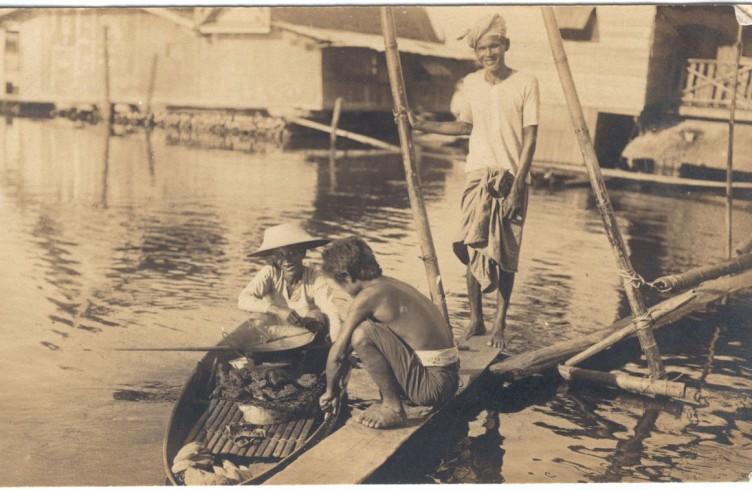 Pescatori a Bangkok