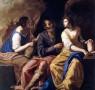 Artemisia Gentileschi, Lot e le sue figlie, 1635-1638