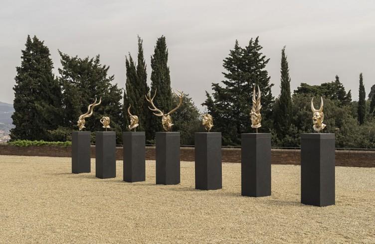 Capitoli I – XVIII (2010) Bronzo al silicio Foto di Attilio Maranzano © Angelos Bvba