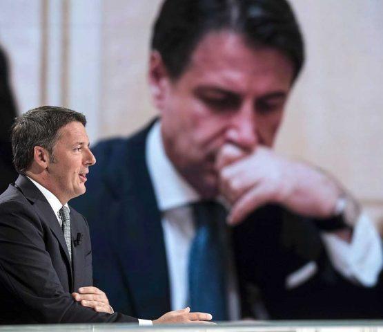 Matteo Renzi e Giuseppe Conte