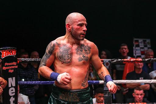 Jimmy Sweeney, The Celtic Warrior- campione del mondo di bare knuckles boxing 2018