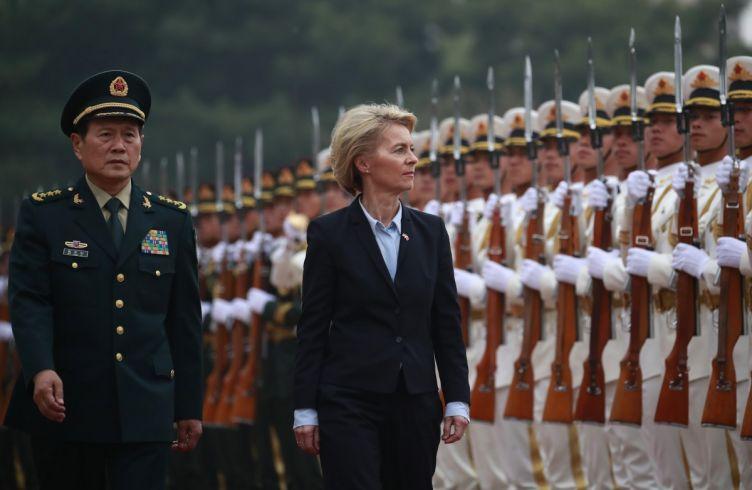 Ursula Von der Leyen in China